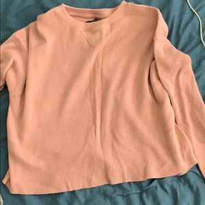 Abercrombie & Fitch Waffle Knit Sweater Small